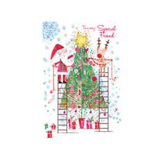 Daisy Patch Special Friend Christmas Card