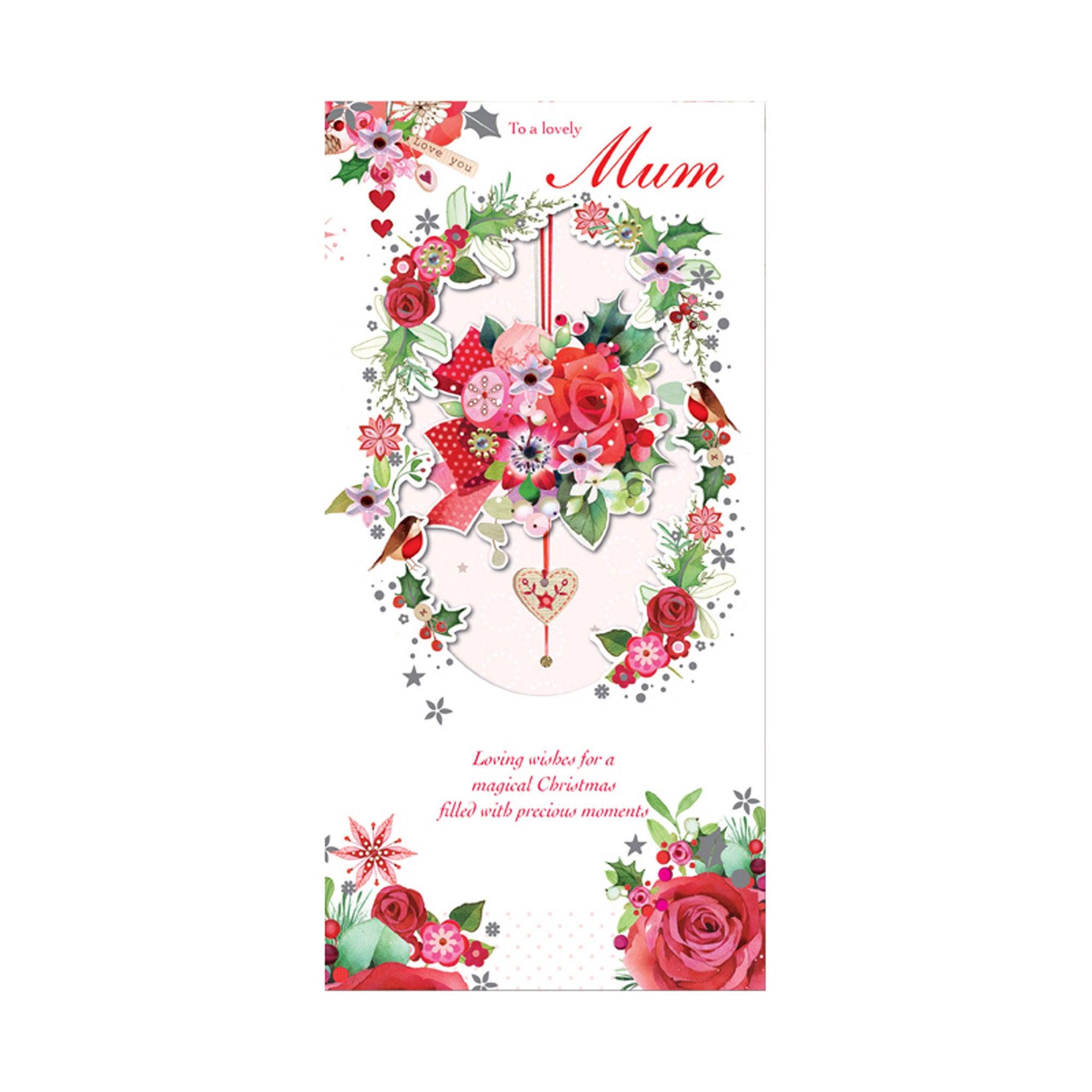 Florentine Mum Christmas Card