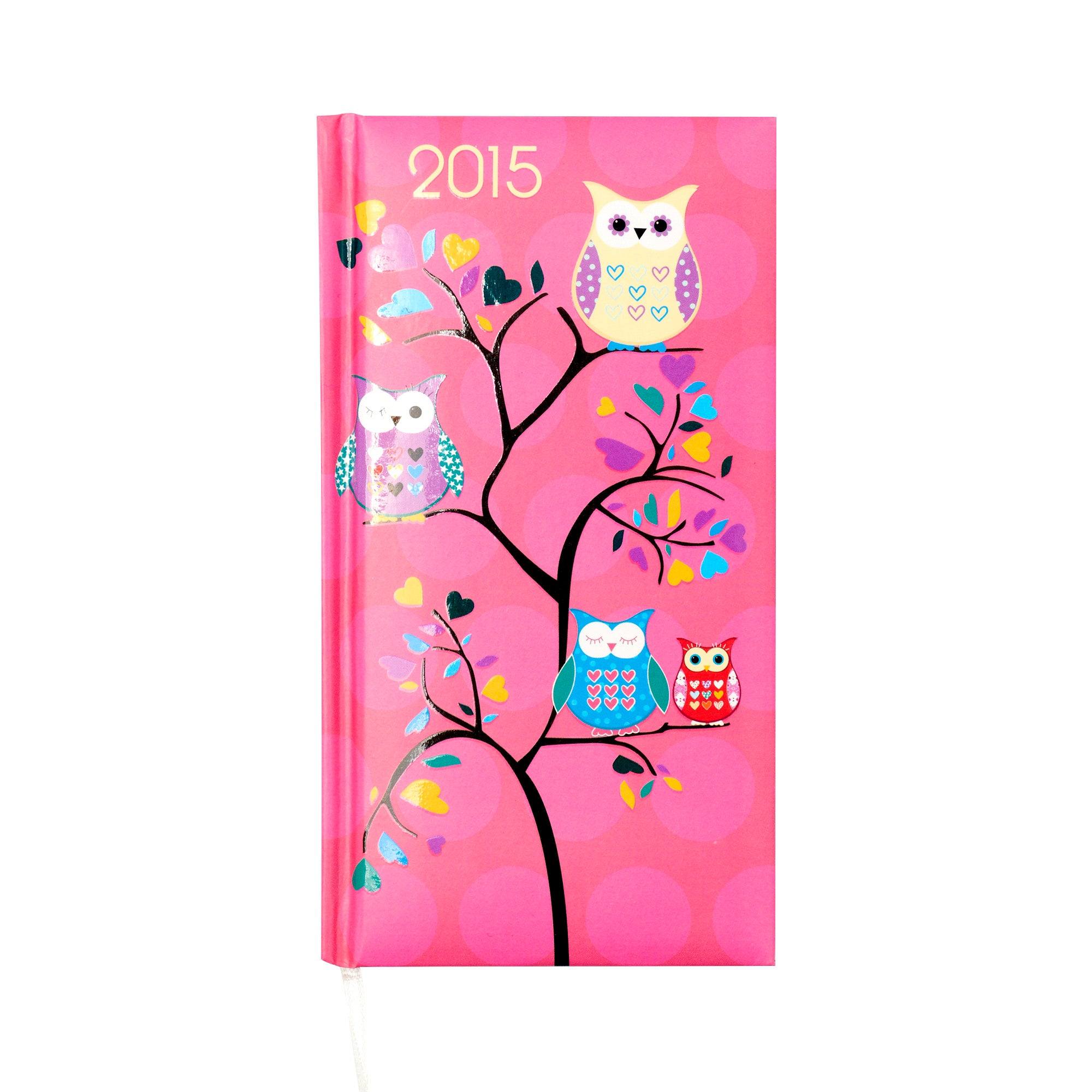Hanging Owls 2015 Slim Diary