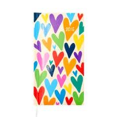 Hearts 2015 Slim Diary
