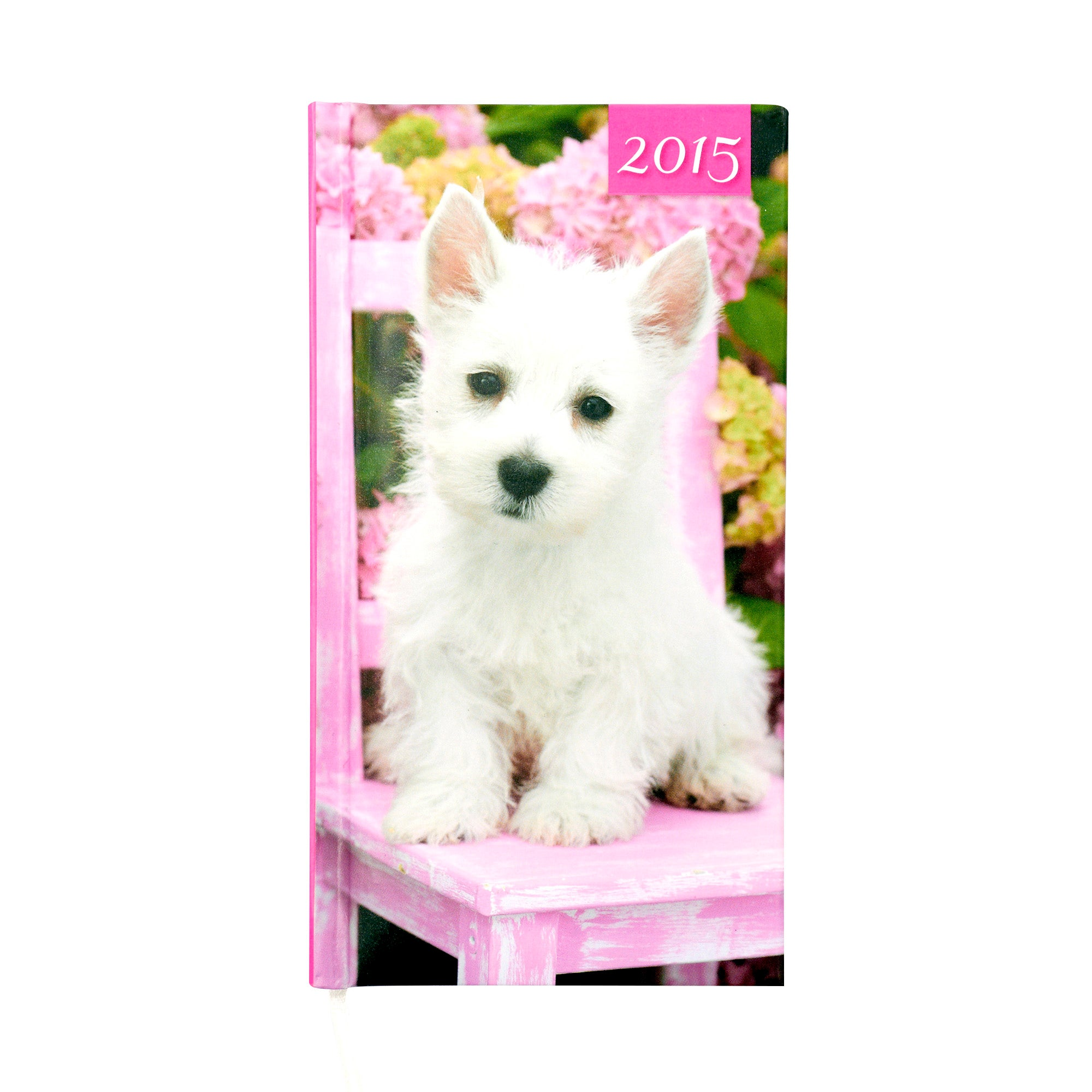 Puppy 2015 Slim Diary
