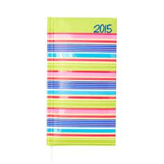 Stripe 2015 Slim Diary
