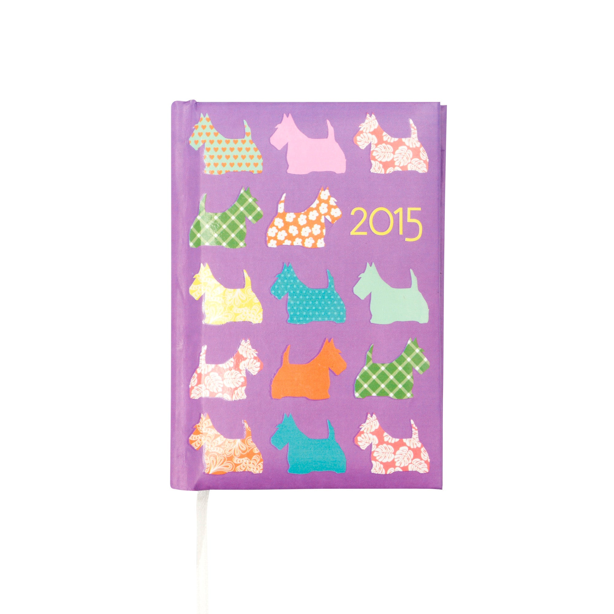 Pocket 2015 Diary Scotties