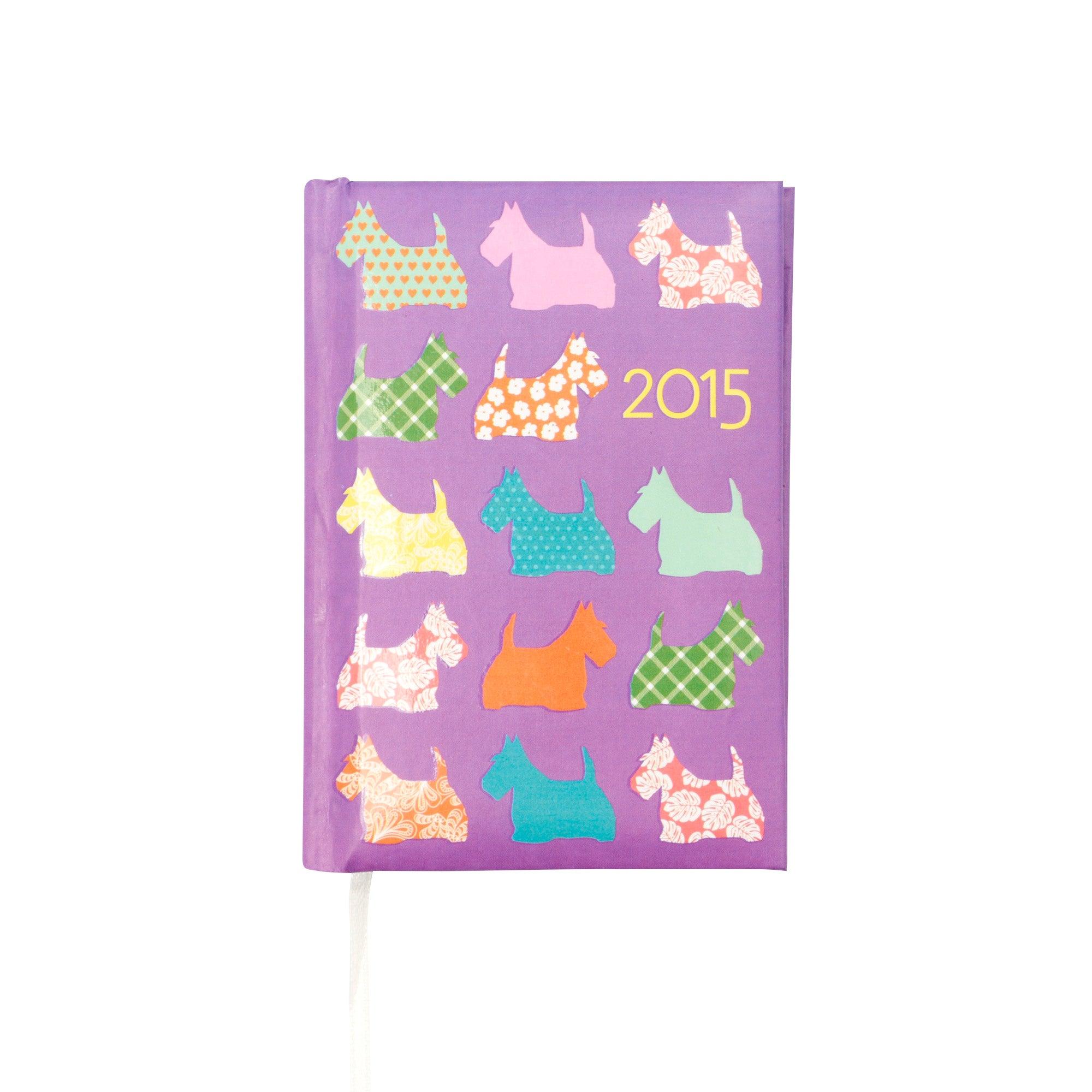 Pocket 2015 Diary Scotties