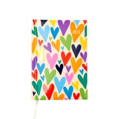 Hearts 2015 Pocket Diary