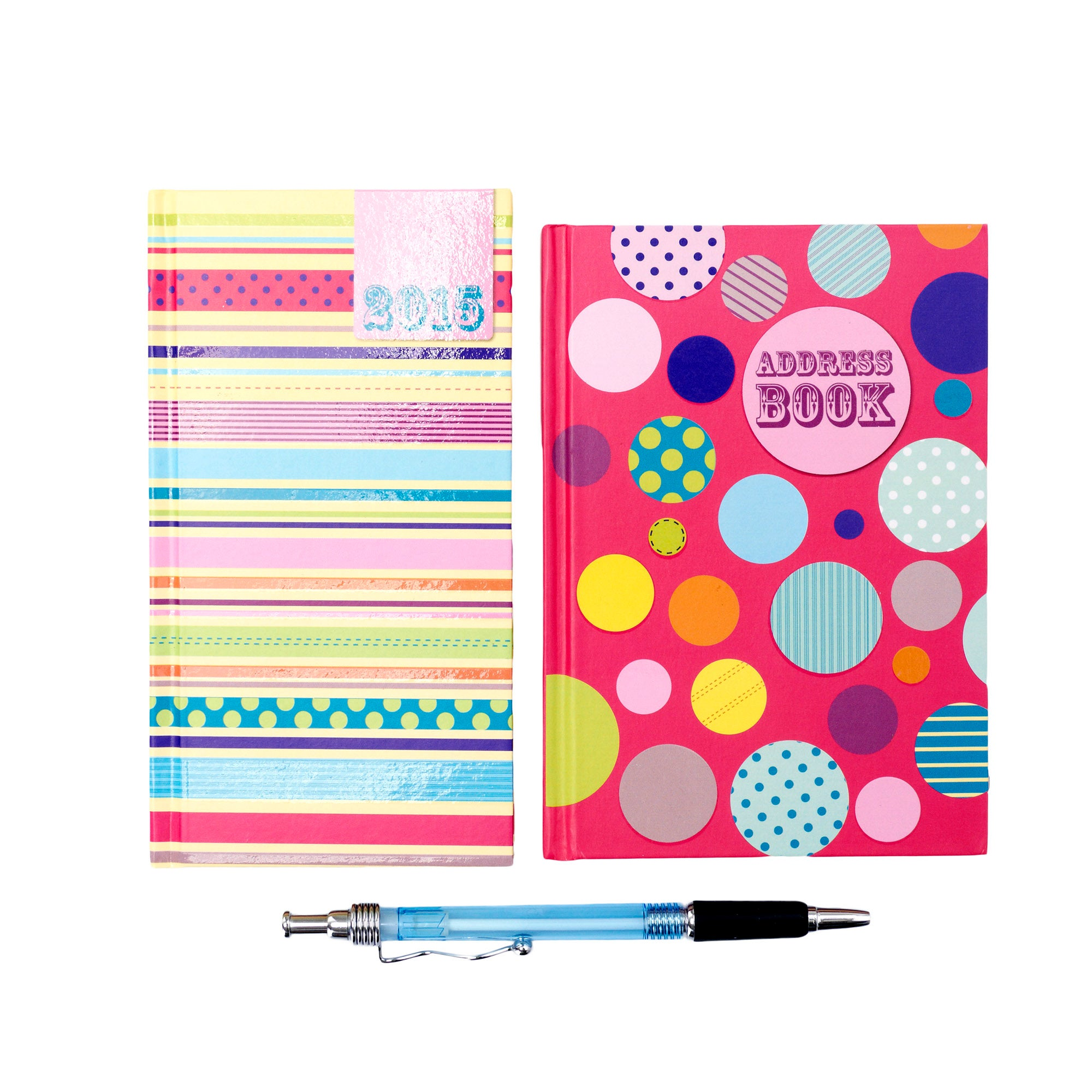 Spots with Stripes 2015 Diary and Address Book