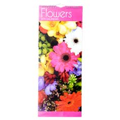 Flowers Super Slim 2015 Calendar