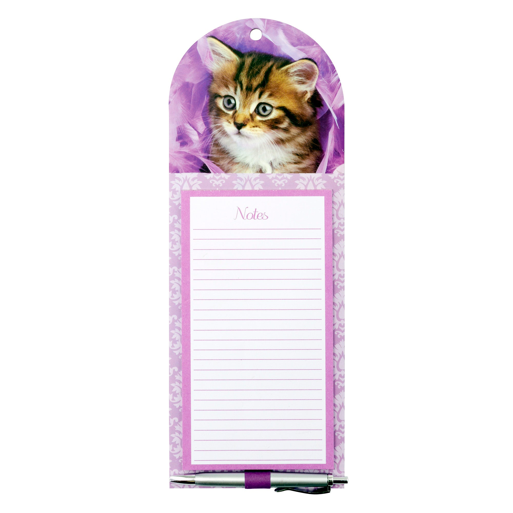 Kitten Magnetic Notepad