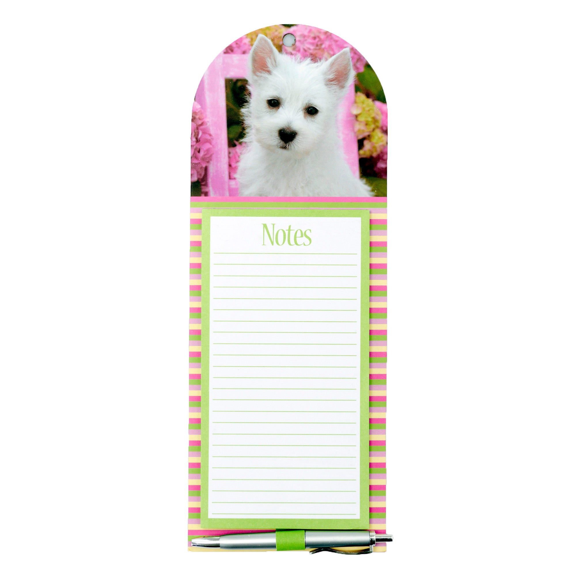 Puppy Magnetic Notepad