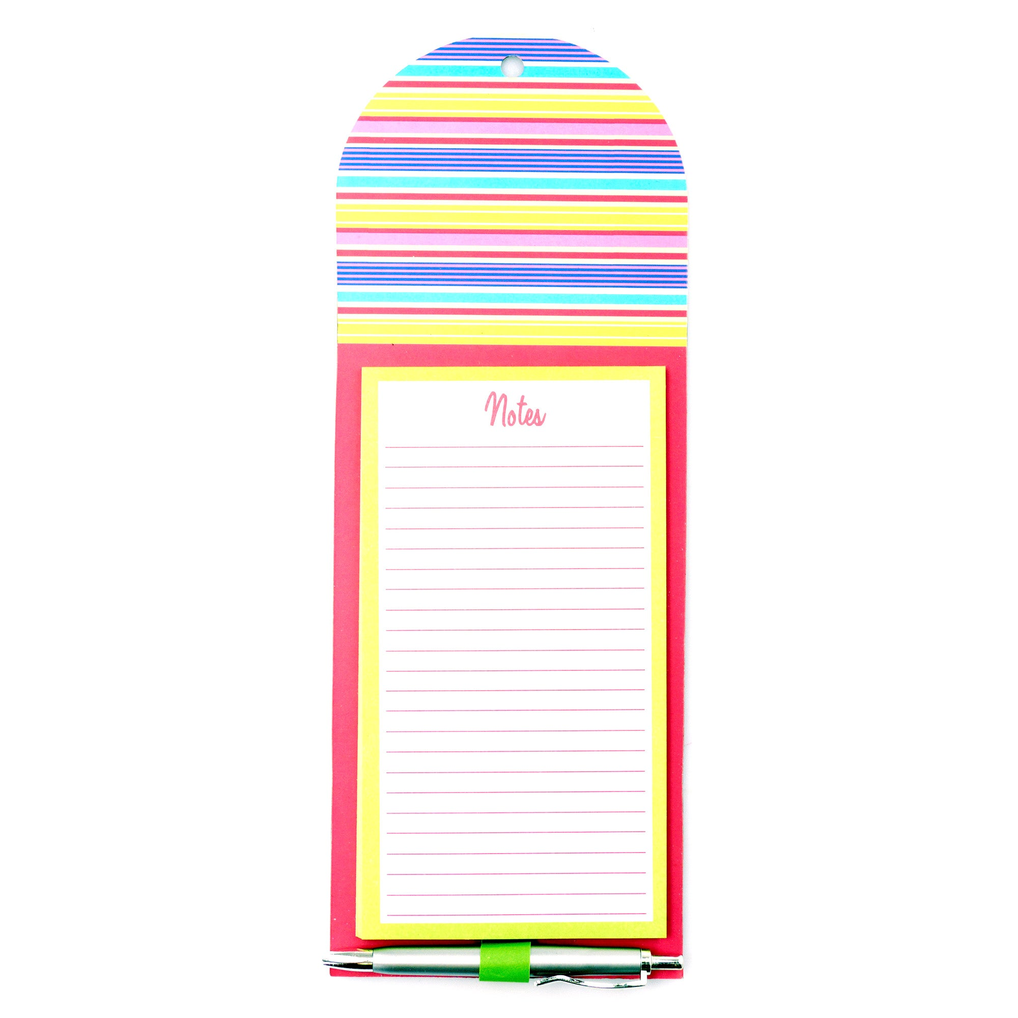 Stripe Magnetic Notepad