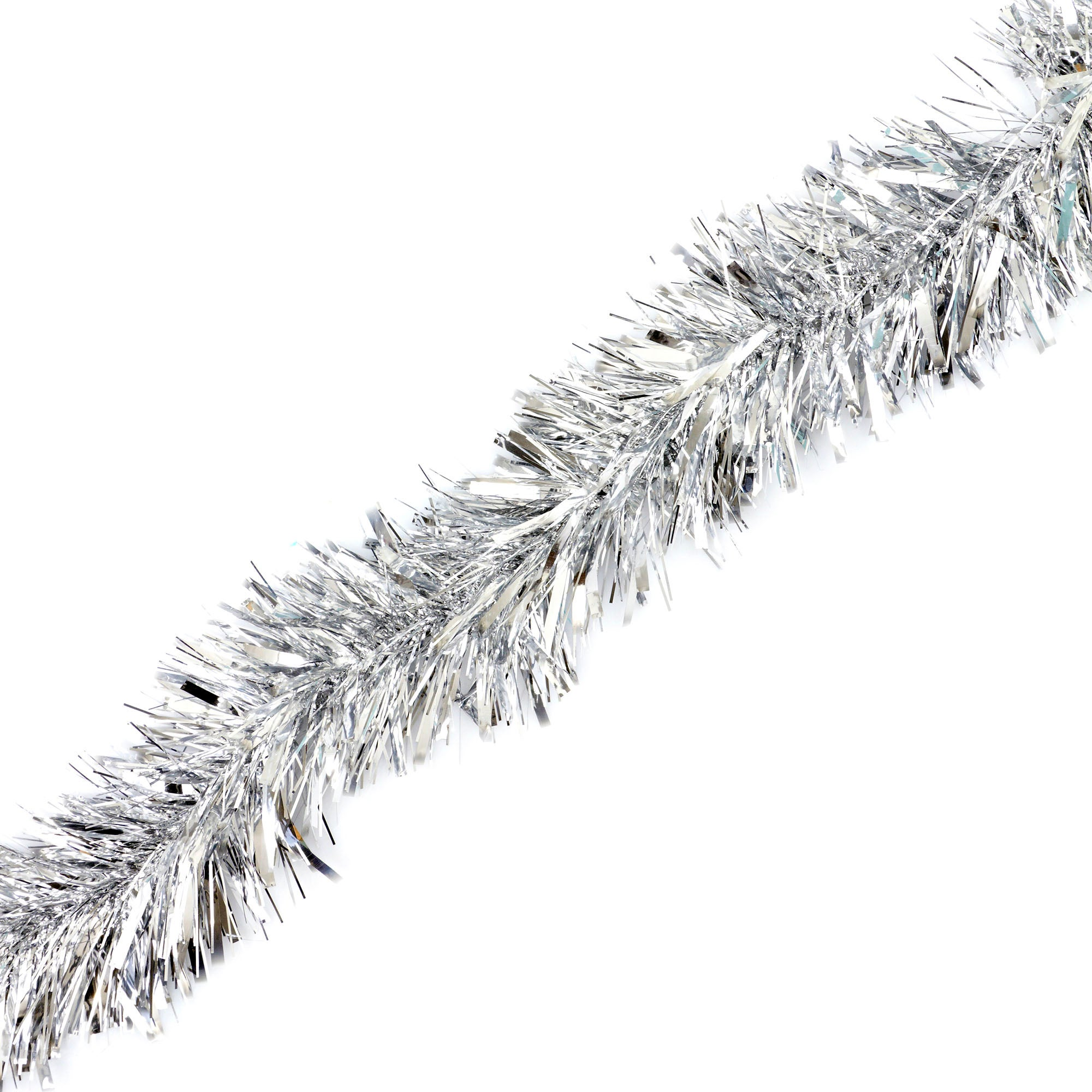 Silver Luxury Tinsel