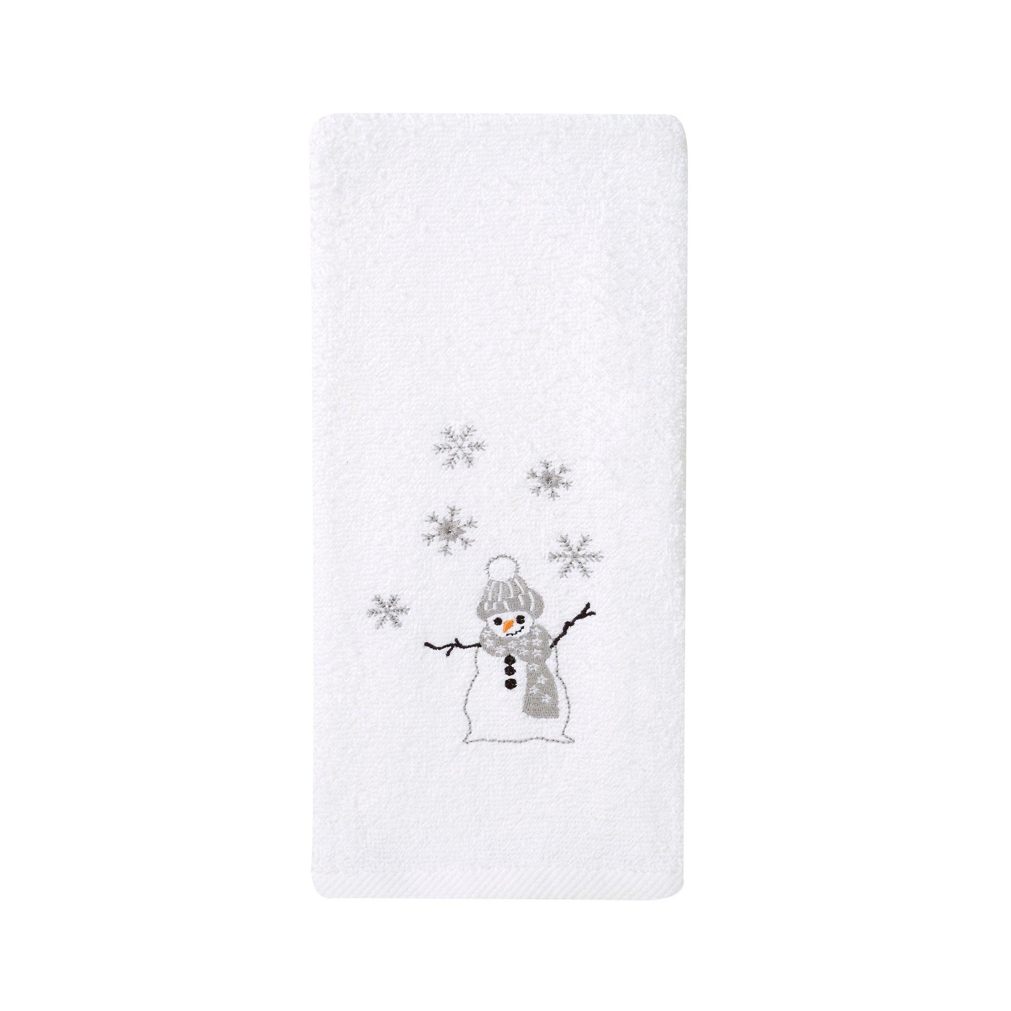 Christmas Snowman Hand Towel