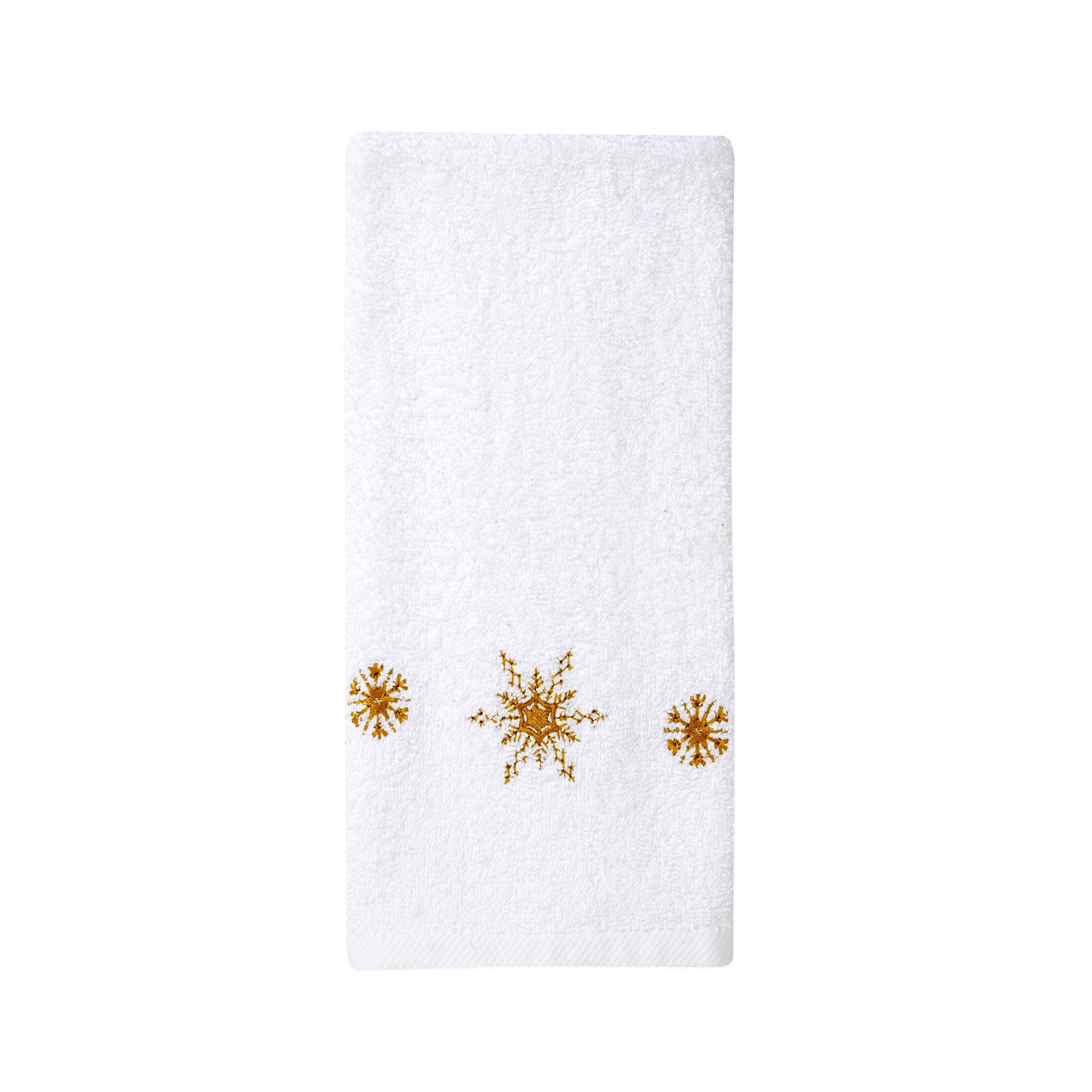 Christmas Snowflakes Towel