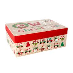 Owl Be Home Ornament Box