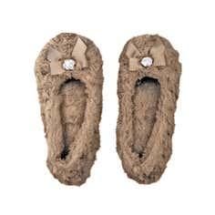 Mocha Ballerina Slippers