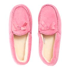 Pink Ladies Traditional Slippers