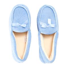 Blue Ladies Traditional Slippers