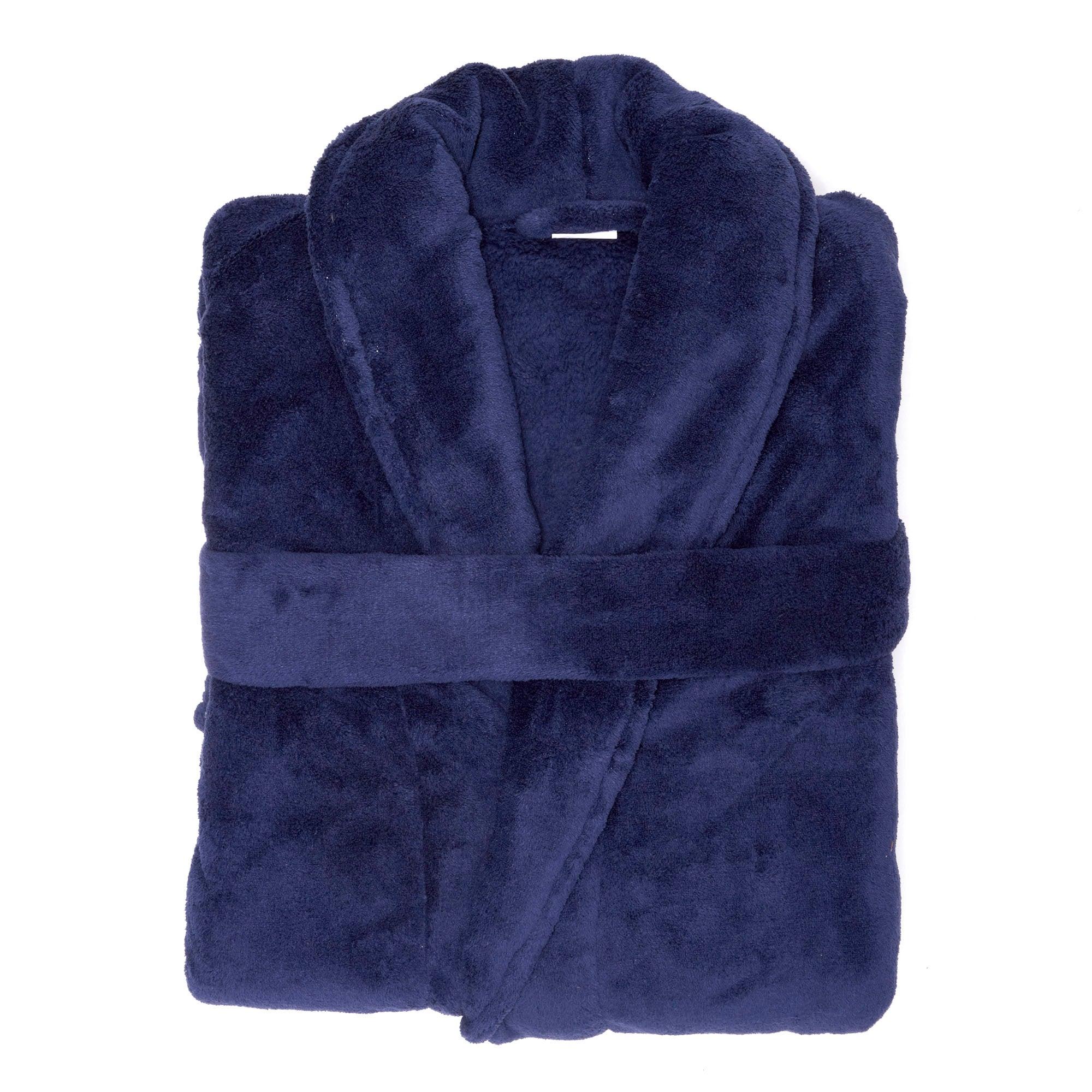 Mens Super Soft Bath Robe