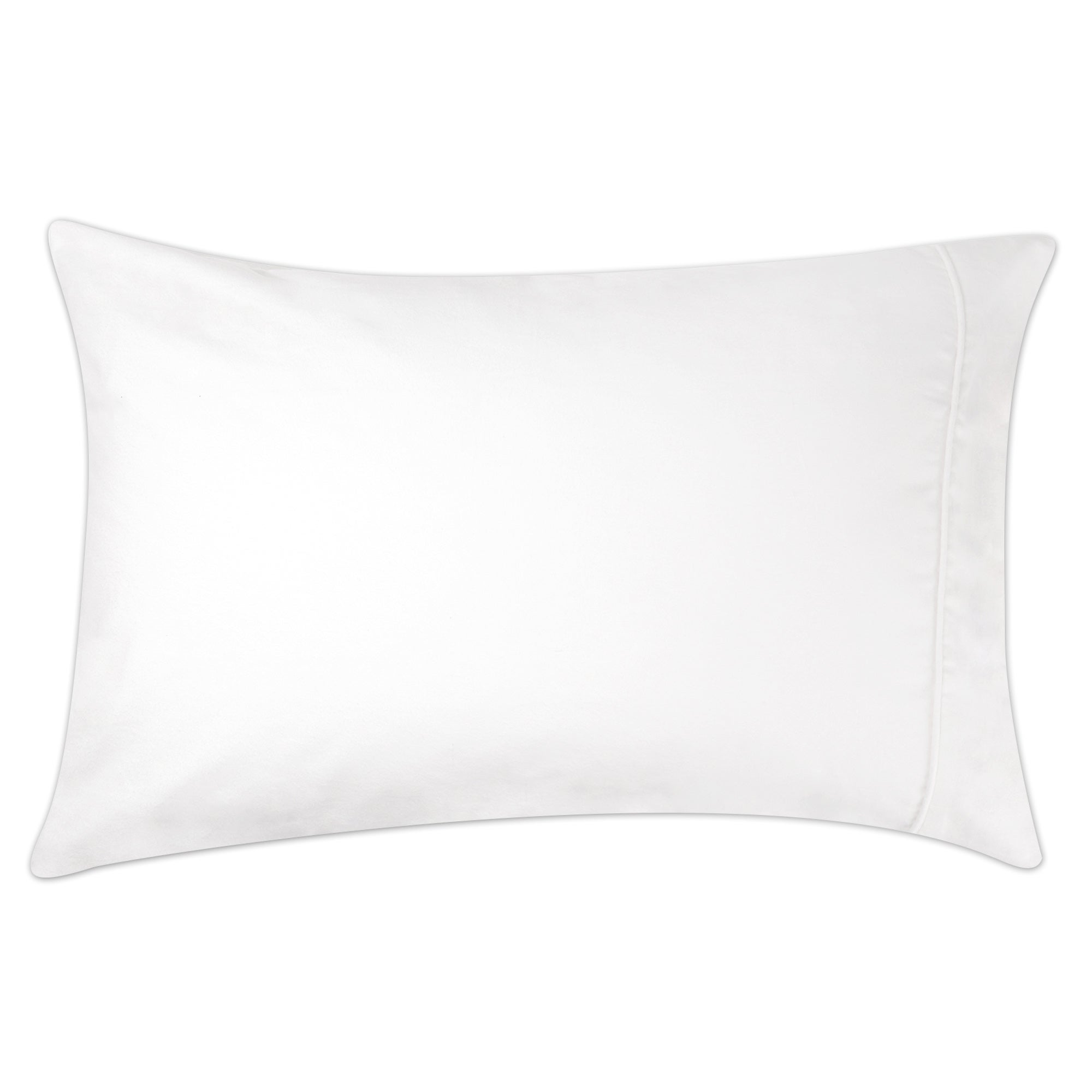 Dorma White Velvety Soft Housewife Pillowcase