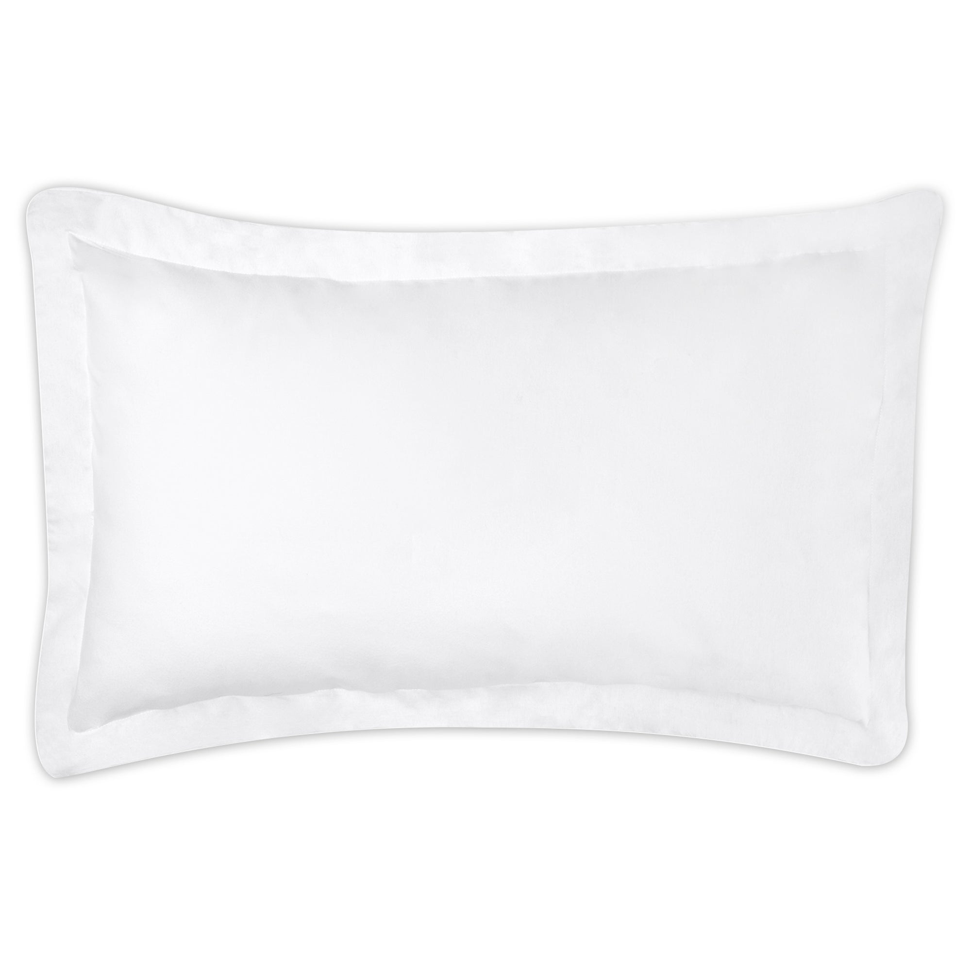 Dorma White Velvety Soft Oxford Pillowcase