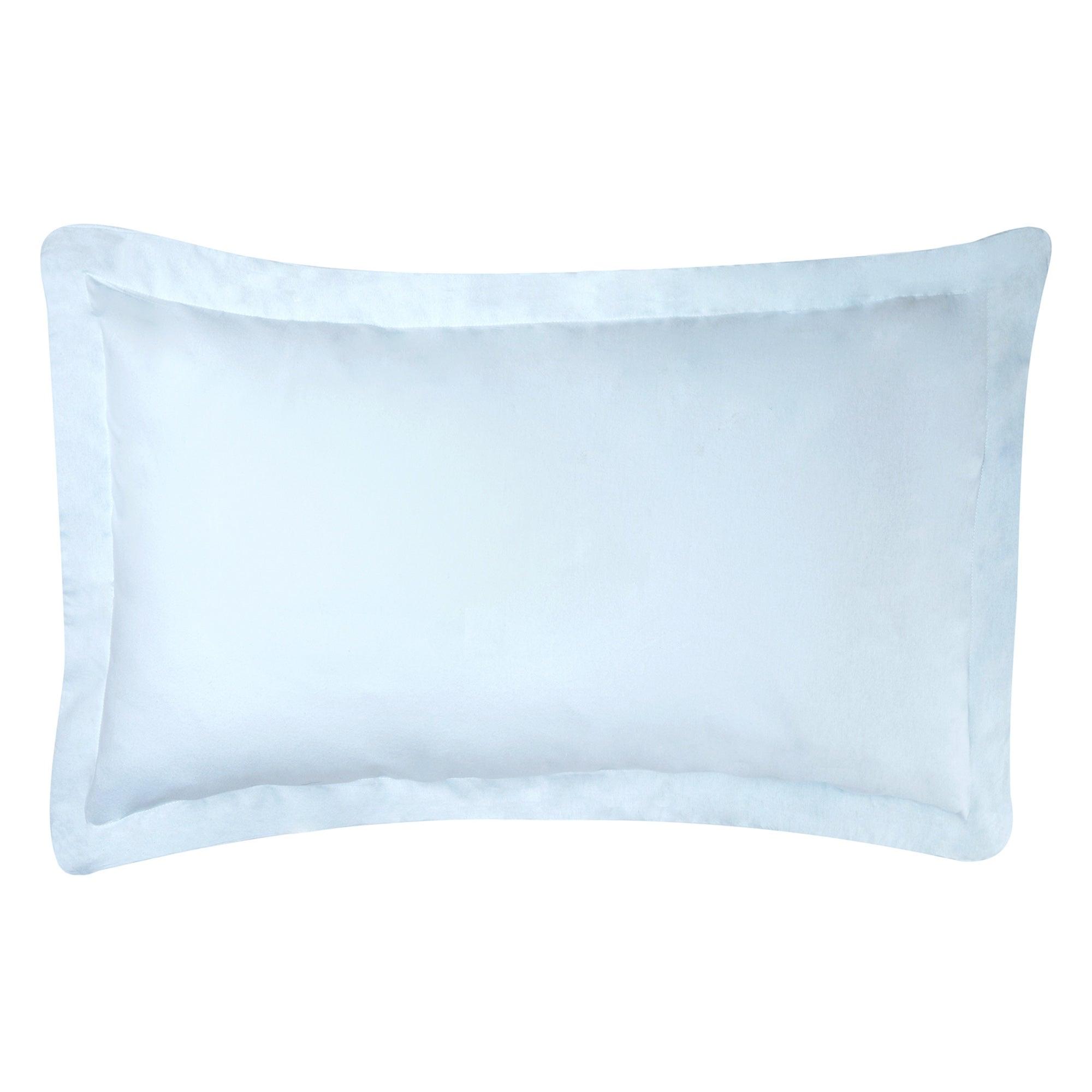 Dorma Duck Egg Velvety Soft Oxford Pillowcase