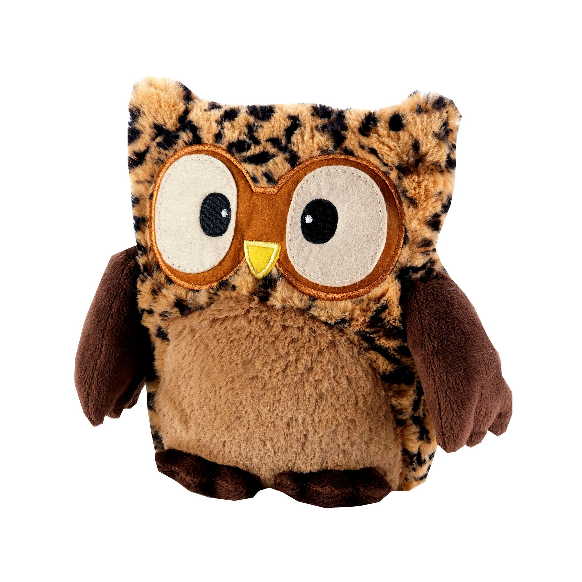 Heatable Cream Hooty Owl