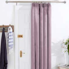Mauve Aspen Thermal Door Curtains