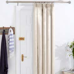 Natural Aspen Thermal Door Curtains