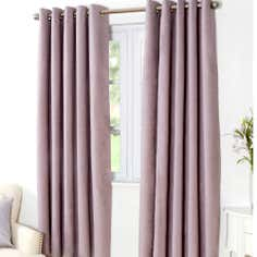 Mauve Aspen Thermal Eyelet Curtains