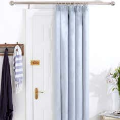 Duck Egg Aspen Thermal Door Curtain