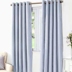 Duck Egg Aspen Thermal Eyelet Curtains