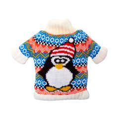 Festive Penguin Jumper Microwavable Bean Bag