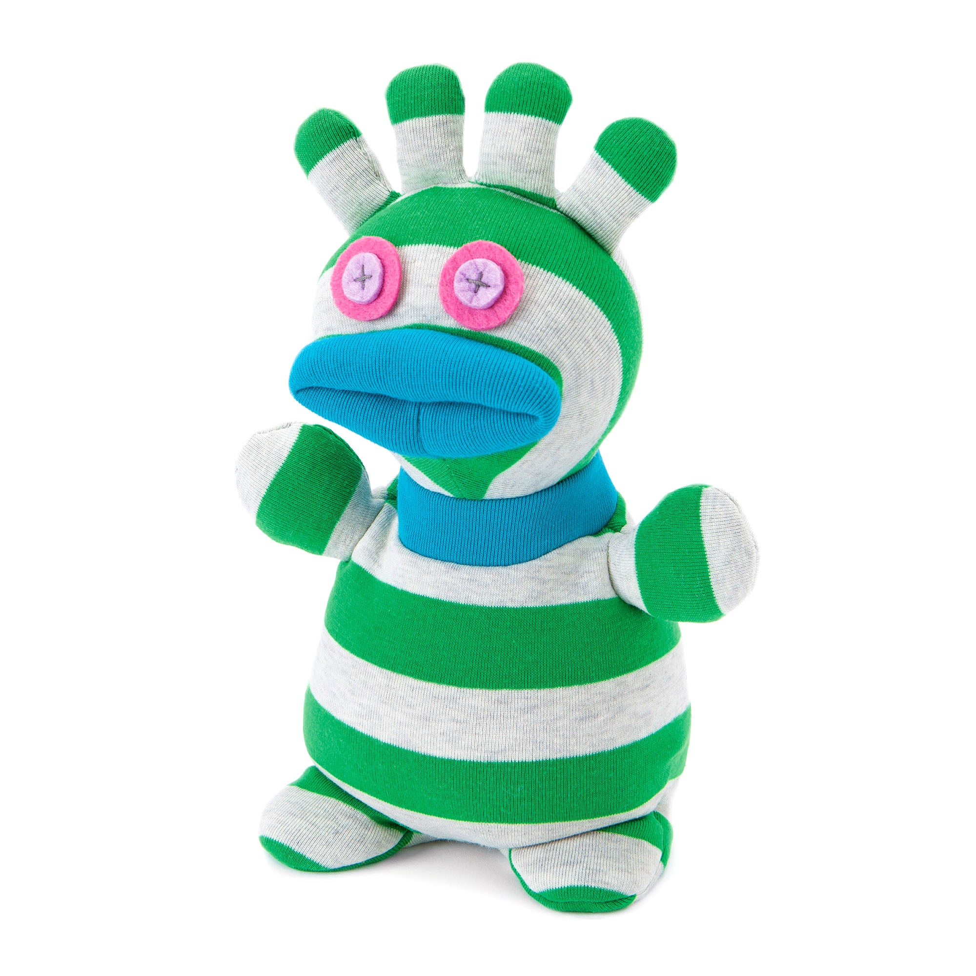 Heatable Socky Doll Boo The Monster