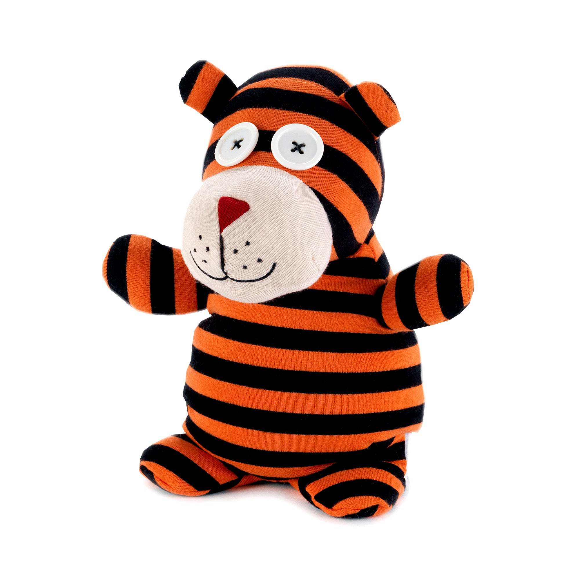 Heatable Tiger Socky Doll