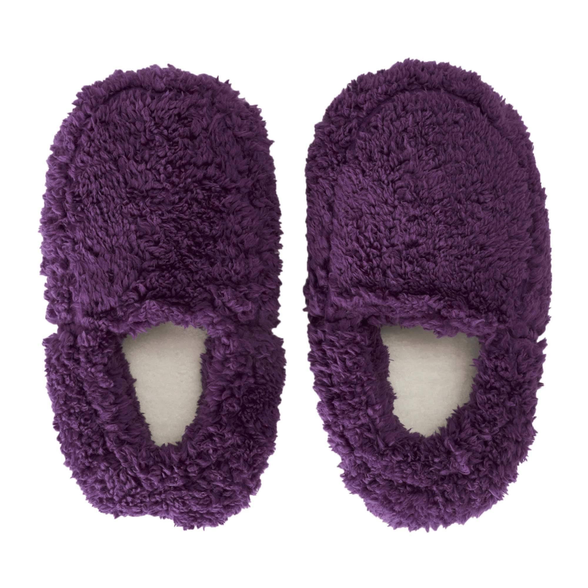 Teddy Bear Heatable Slippers