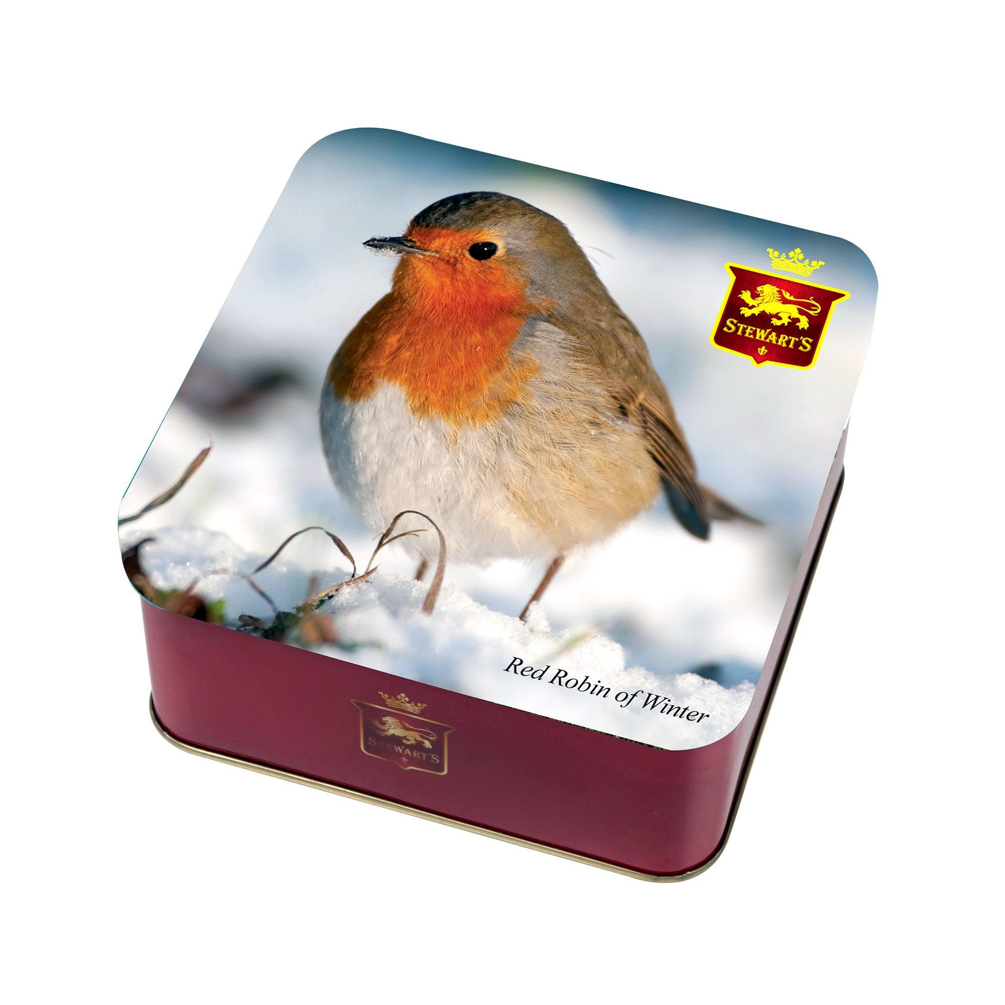 Stewart's Robin Gift Tin With Fudge