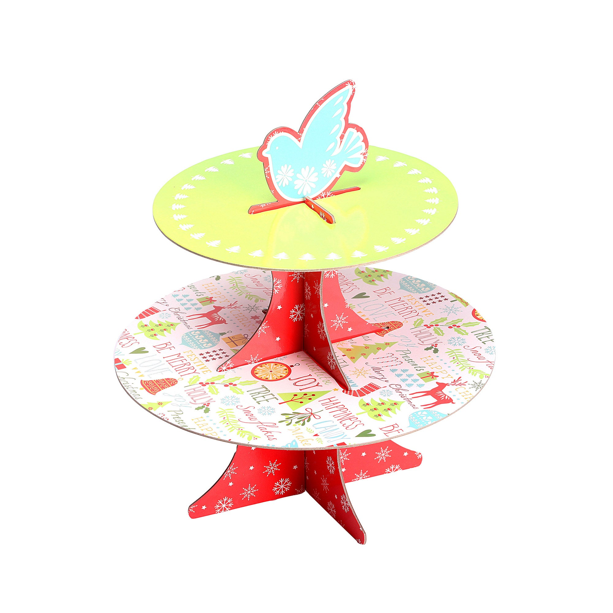 Be Merry Cake Stand