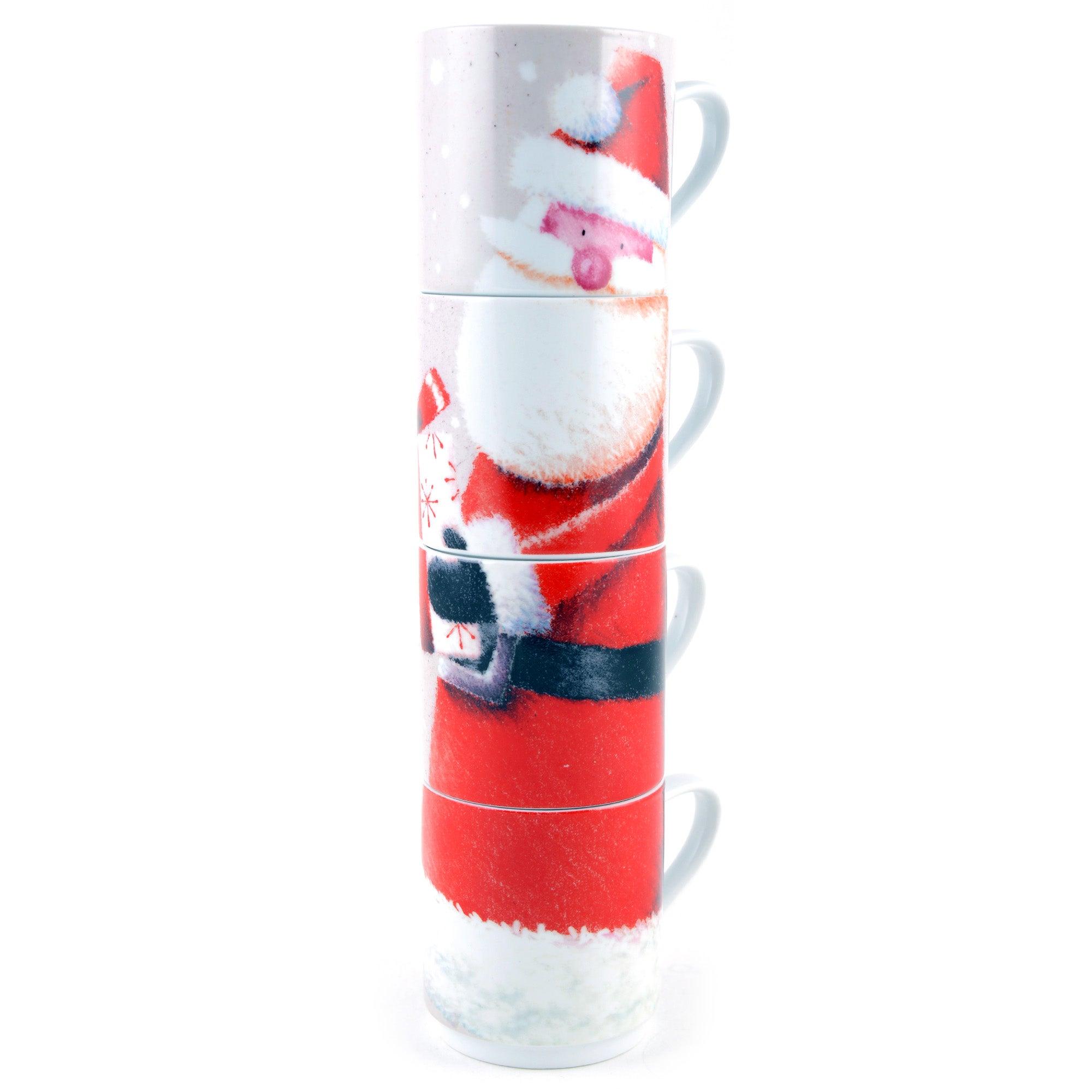 Santa Stacking Mugs