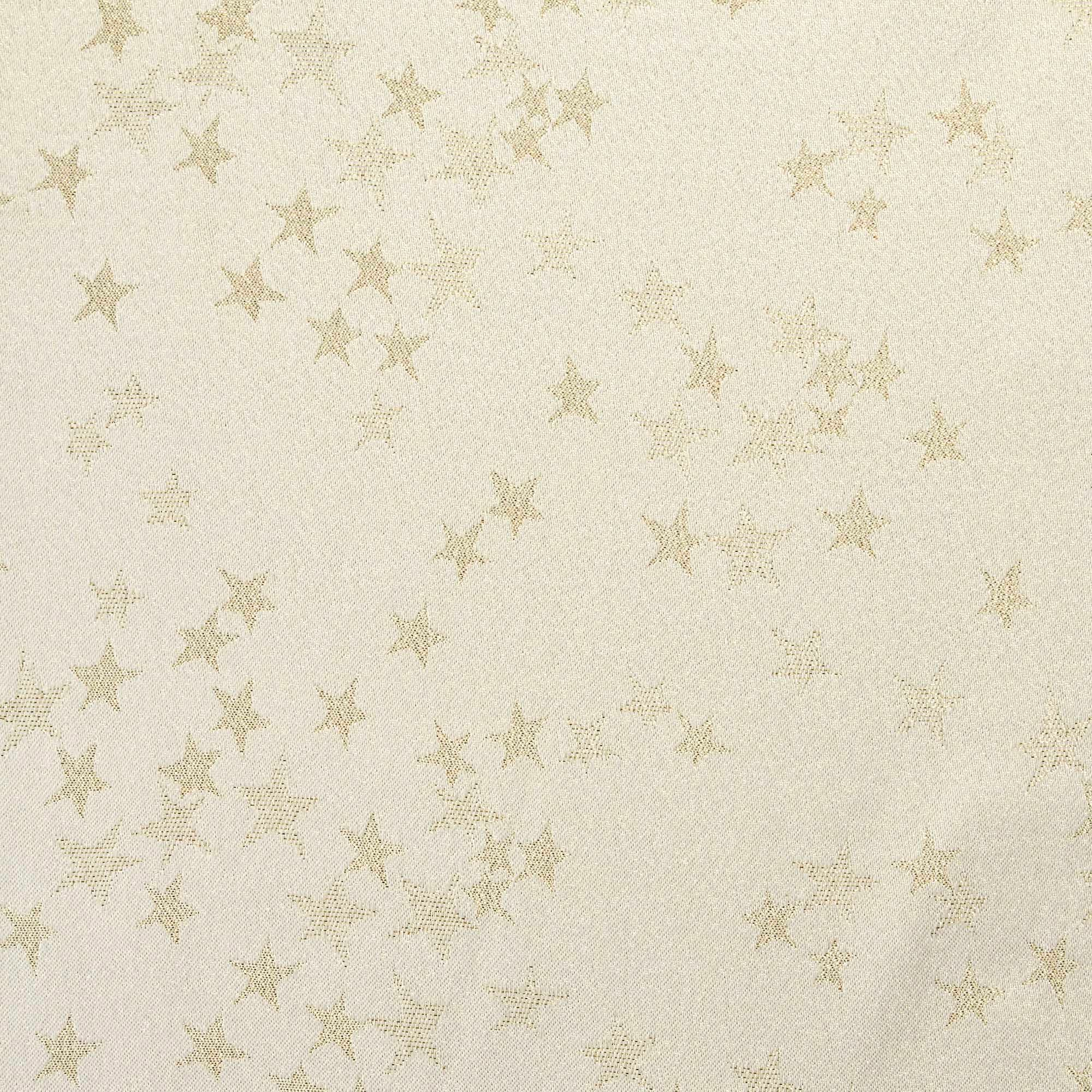Gold Star Tablecloth