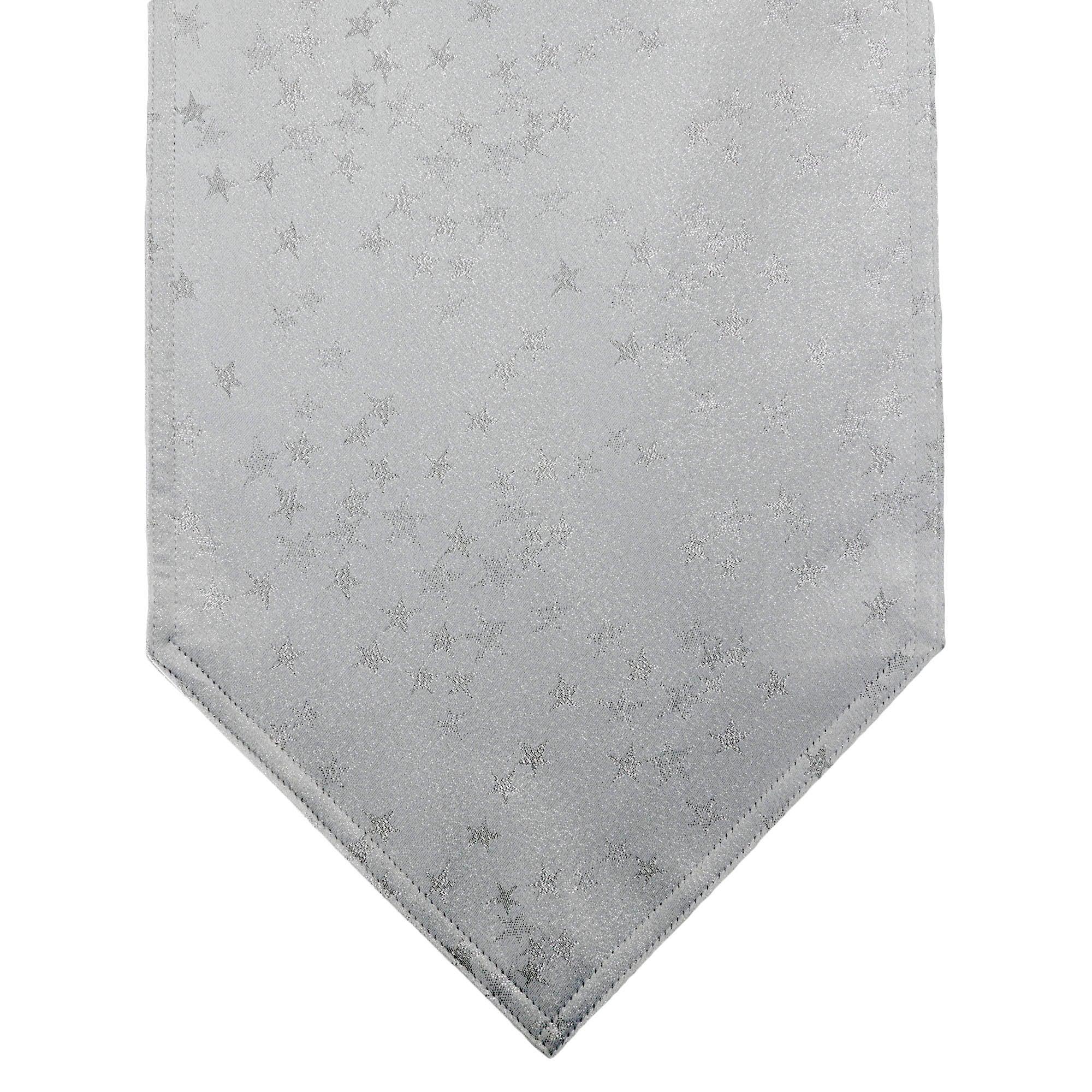 Silver Star Table Runner
