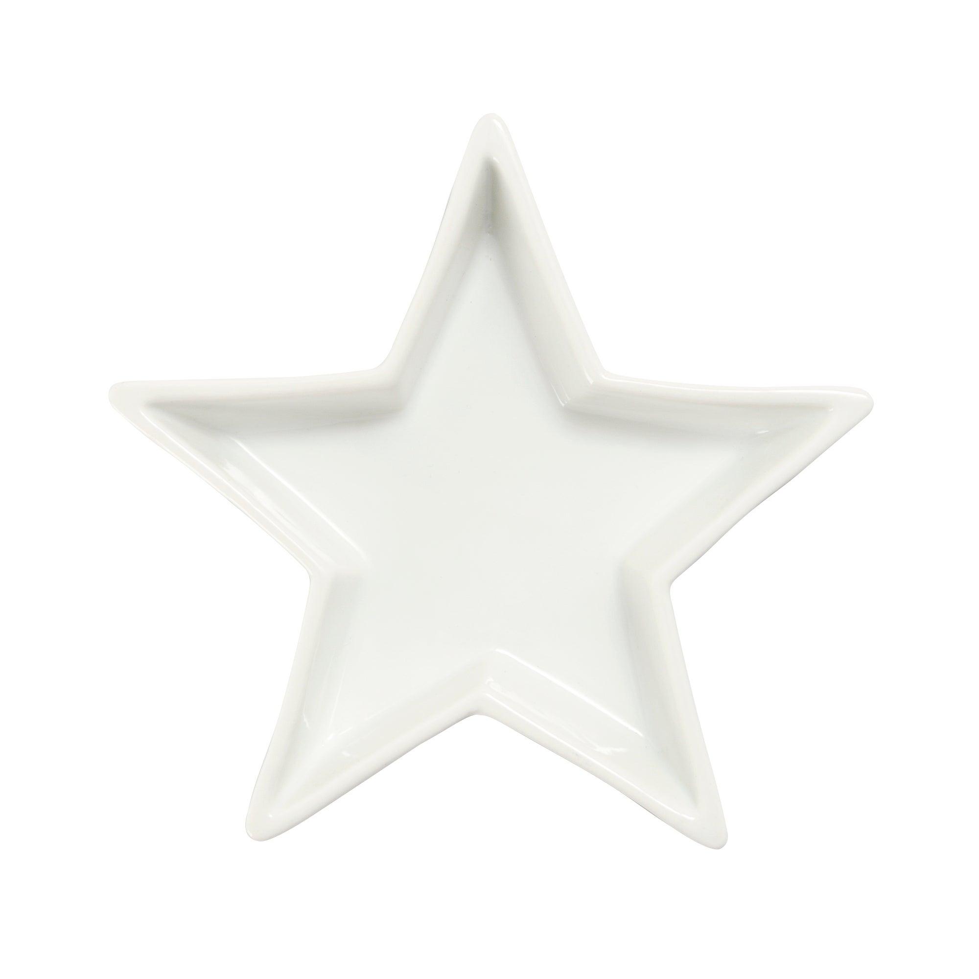 White Star Serving Dish