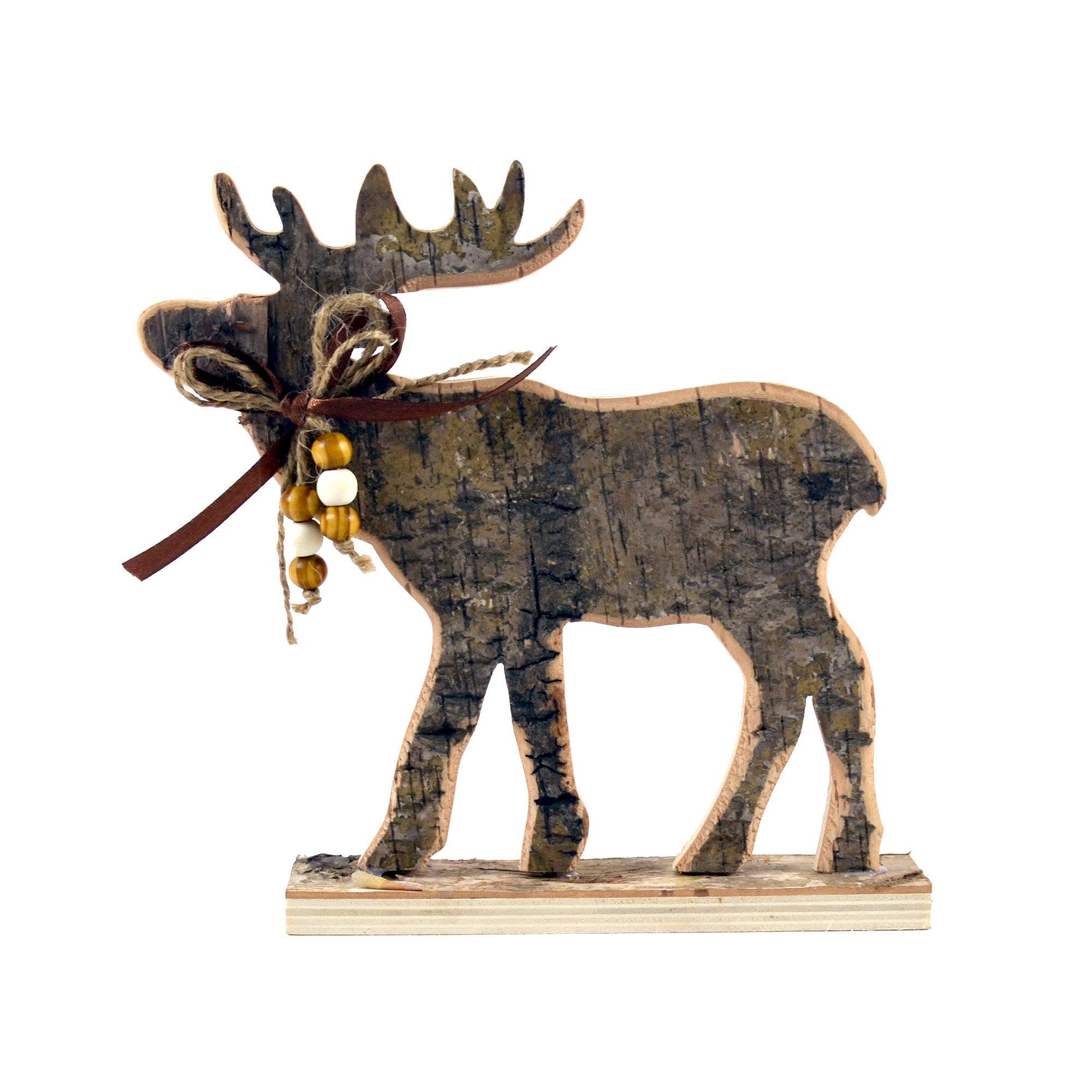 Wooden Deer Decoration