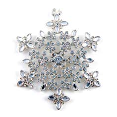 Snowflake Decoration Silver