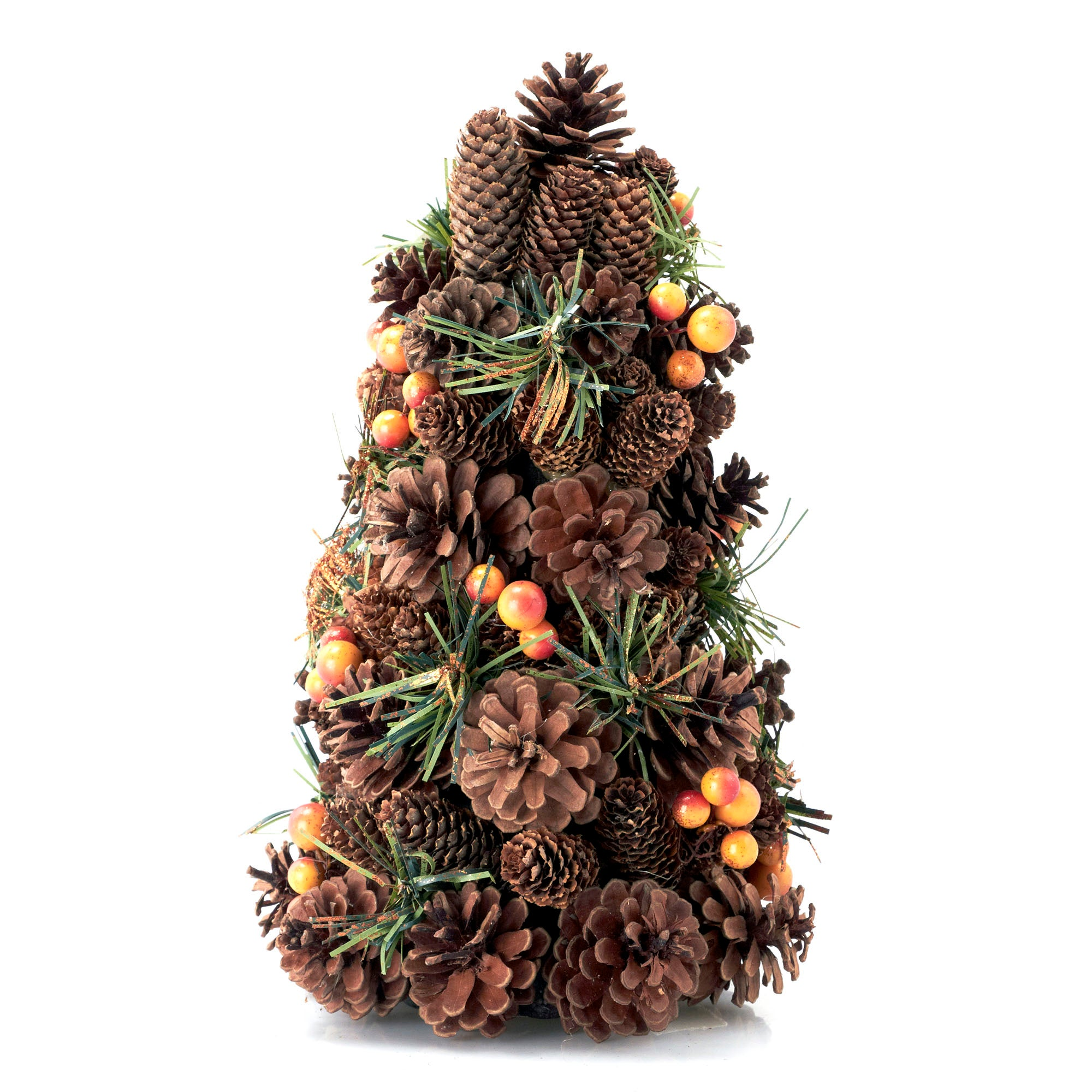 Pine Cone and Berry Tree