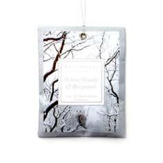 White Woods and Bergamot Mini Sachet