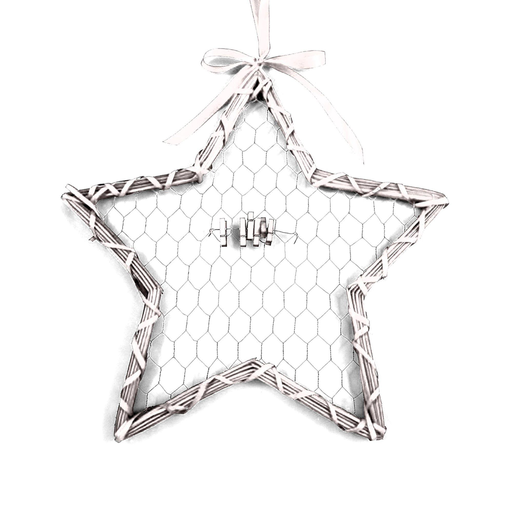 White Star Card Holder
