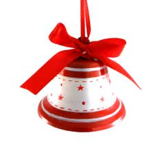 Red and White Bell Tree Decoration