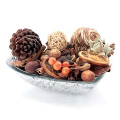 Festive Ramble Pot Pourri Brown