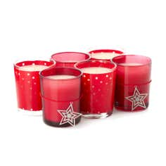 Crisp and Even Set of Six Votives