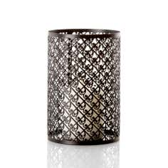 Ritz and Glitz Hurricane Vase Candle Set